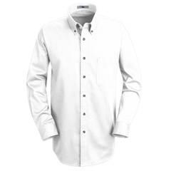 UNF1T12WH-RG-S - Red KapMens Meridian Performance Twill Shirt
