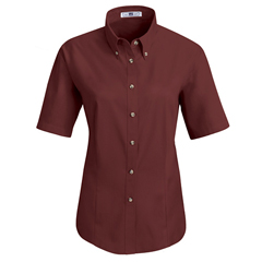 UNF1T21BU-SS-XL - Red KapWomens Meridian Performance Twill Shirt