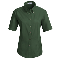 UNF1T21EM-SS-XS - Red KapWomens Meridian Performance Twill Shirt
