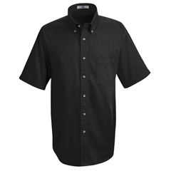 UNF1T22BK-SS-S - Red KapMens Meridian Performance Twill Shirt