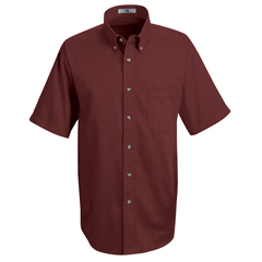 UNF1T22BU-SS-XL - Red KapMens Meridian Performance Twill Shirt