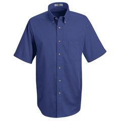 UNF1T22RB-SS-M - Red KapMens Meridian Performance Twill Shirt