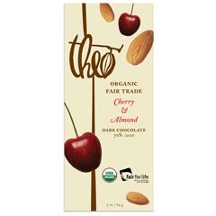 BFG20623 - Theo ChocolateDark Chocolate Cherry Bar & Almond