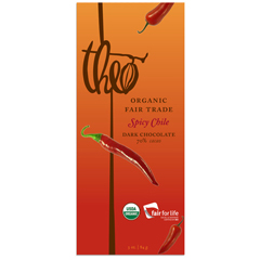 BFG23487 - Theo Chocolate - Dark Chocolate with Spicy Chile