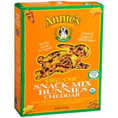 BFG23510 - Annie's HomegrownAnnies Cheddar Snack Mix Bunnies