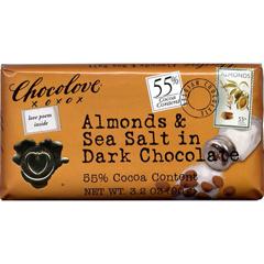 BFG24416 - ChocoloveDark Chocolate Almonds & Sea Salt