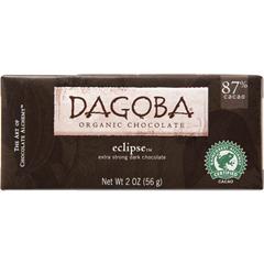 BFG25091 - DagobaOrganic Eclipse™ Extra Dark Chocolate Bar (87% Cacao)