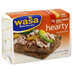 BFG25656 - Wasa CrispbreadHearty Grain Rye Crispbread