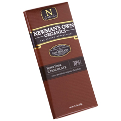 BFG27397 - Newman's Own OrganicsSuper Dark Chocolate Bar