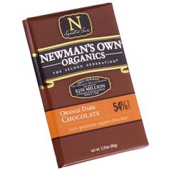 BFG27399 - Newman's Own OrganicsOrange Dark Chocolate Bar