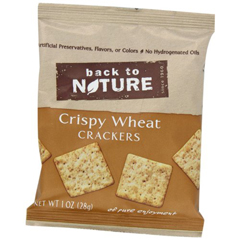 BFG89562 - Back To NatureCrispy Wheats, Single Serving