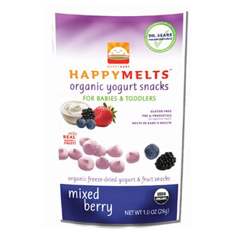BFG28550 - Happy BabyYogurt Snack Mixed Berry