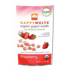 BFG28552 - Happy Baby - Yogurt Snack Strawberry