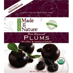 BFG30089 - Made In NatureTree Ripened Plums