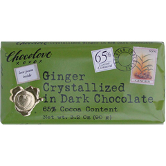 BFG30400 - ChocoloveCrystallized Ginger In Dark Chocolate