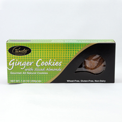 BFG31699 - Pamela's ProductsGinger Cookies with Sliced Almonds