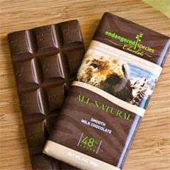 BFG31740 - Endangered SpeciesSea Otter Bar All-Natural Smooth Milk Chocolate