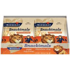 BFG32713 - Barbara's BakeryChocolate Chip Snackimals