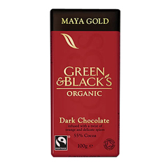 BFG33302 - Green & Black'sChocolate Bar Maya Gold