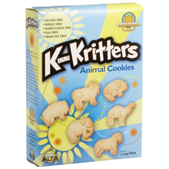BFG33700 - Kinnikinnick Foods - Kritters Animal Cookies