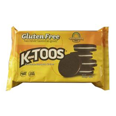 BFG33701 - Kinnikinnick Foods - Ktoos Chocolate Sandwich Cream Cookies