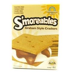 BFG33916 - Kinnikinnick FoodsSmoreable Grahams Crackers