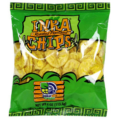 BFG34442 - Inka CropsInka Roasted Plantain Chips