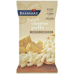 BFG35007 - Barbara's BakeryBarbaras White Cheddar Cheese Puffs Baked