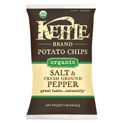 BFG35080 - Kettle FoodsOrganic Salt & Fresh Ground Pepper Chips