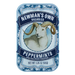BFG35159 - Newman's Own OrganicsPeppermint Mints Tin