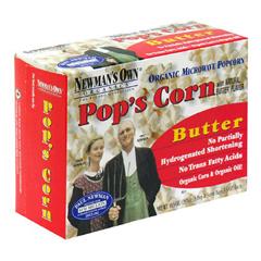 BFG35144 - Newman's Own OrganicsMicrowave Popcorn Butter