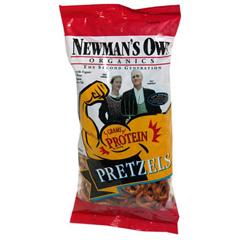 BFG35169 - Newman's Own OrganicsHigh Protein Pretzels