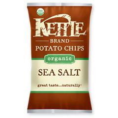 BFG35208 - Kettle FoodsOrganic Sea Salt Chips