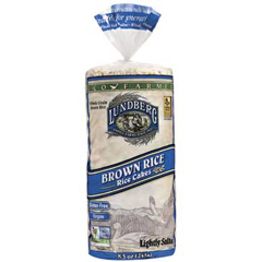 BFG35354 - LundbergBrown Rice Cakes Eco-Farmed 100% Organic