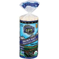BFG35356 - LundbergBrown Rice Cakes, Lightly Salted