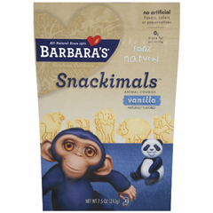 BFG36118 - Barbara's BakeryBarbaras Vanilla Snackimals