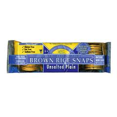 BFG36183 - Edward & SonsPlain No Salt Brown Rice Snaps