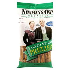BFG36302 - Newman's Own OrganicsPretzel Sticks Salted