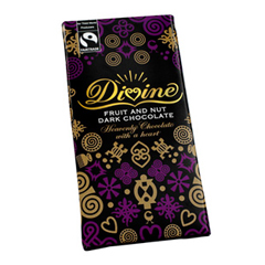 BFG36989 - DivineFruit Nut Chocolate Bar