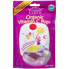 BFG38595 - Yummy EarthOrganic Vitamin C Pops