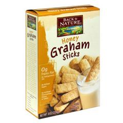BFG89652 - Back To NatureHoney Grahams Sticks