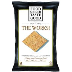 BFG29695 - Food Should Taste GoodThe Works Tortilla Chips