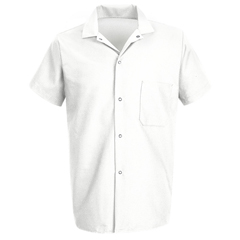 UNF5028WH-SS-S - Chef DesignsMens Cook Shirt