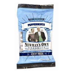 BFG61861 - Newman's Own OrganicsPeppermint Mint Roll