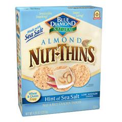 BFG65000 - Blue DiamondSea Salt Nut Thins