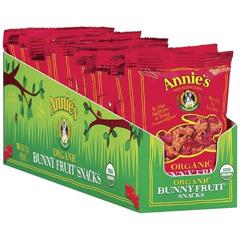 BFG65400 - Annie's HomegrownAnnies  Summer Strawberry Snacks, Single Servings