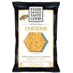 BFG29678 - Food Should Taste GoodCheddar Tortilla Chips