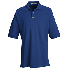 UNF7701RY-SS-XL - Red KapMens Basic Pique Polo Shirt
