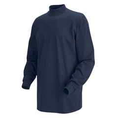 UNF8301NV-RG-L - Red KapMens Mock Turtleneck