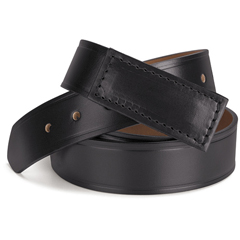 UNFAB12BK-RG-S - Red KapMens No-Scratch Leather Belt